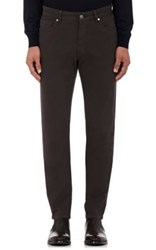 Ermenegildo Zegna Men's Five Pocket Jeans Brown