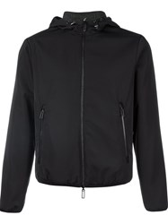 Emporio Armani Zipped Hooded Jacket Black