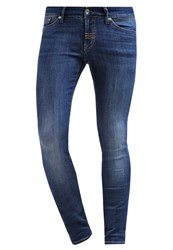 Meltin Pot Slim Fit Jeans Blue Denim