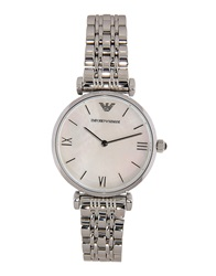Emporio Armani Wrist Watches White