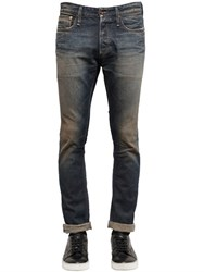 Denham Jeans Candiani Razor Slim Washed Denim