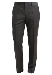 Tommy Hilfiger Tailored Rhames Suit Trousers Grey Anthracite