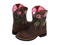 Ariat Fatbaby Cowgirl Distressed Brown Mossy Oak Cowboy Boots
