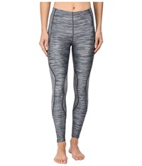 Cw X Traxter Recovery Tights Heather Grey Print Women's Workout Gray