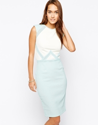 Little Mistress Jacquard Bodycon Dress Mint