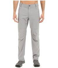 Columbia Pilsner Peak Pants Grey Ash Men's Casual Pants Gray