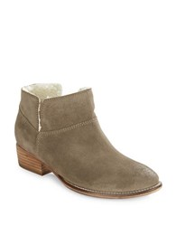 Seychelles Snare Sherpa Lined Ankle Booties Taupe