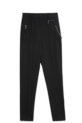 Alexander Wang Skinny Chain Trousers Black