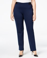 Jm Collection Plus Size Pull On Pants Only At Macy's Industrial Blue