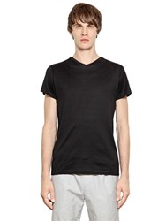 Jil Sander Mercerized Cotton T Shirt