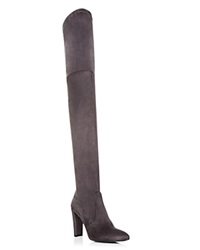 Stuart Weitzman Alllegs Over The Knee High Heel Boots Gray