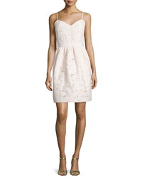 Ted Baker Quancie Sweetheart Neck Dress Nude Pink Women's