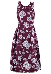 Mintandberry Summer Dress Potent Purple