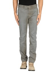 Incotex Red Trousers Casual Trousers Men Lead