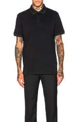 Givenchy Columbian Fit Cobra Polo In Black