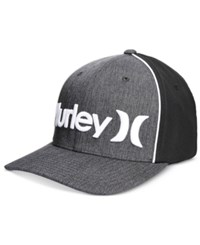 Hurley Men's One And Only Corp Embroidered Logo Flexfit Hat Black