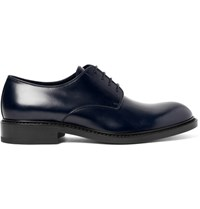 Jil Sander Alexandria Leather Derby Shoes Midnight Blue