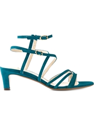 L'autre Chose Strappy Sandals Blue