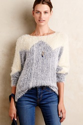 Moth Zigged Formation Pullover Neutral Motif