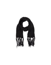 Trussardi Jeans Accessories Oblong Scarves Women Black