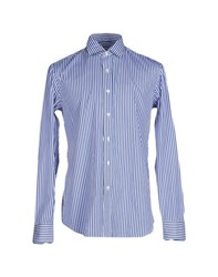 Salvatore Piccolo Shirts Shirts Men Blue