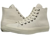 Converse Chuck Taylor All Star Ii Coated Leather Hi Turtledove Turtledove Turtledove Lace Up Casual Shoes White