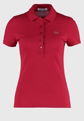 Lacoste Polo Shirt Tokyo Red