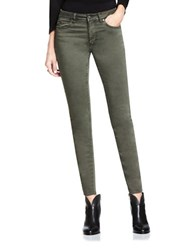 Vince Camuto Five Pocket Skinny Jeans Olive Earth