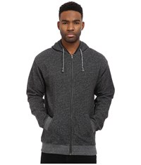 Matix Clothing Company Smokey Zip Fleece Black Men's Sweatshirt