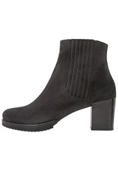 Homers Adele Ankle Boots Grunge Dark Grey