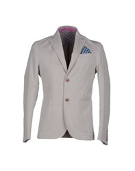 Roberto Pepe Suits And Jackets Blazers Men Light Grey