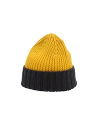 People Accessories Hats Men Yellow