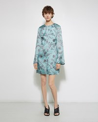 3.1 Phillip Lim Floral Bell Sleeve Dress