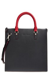 Men's Salvatore Ferragamo 'Revival' Contrast Trim Tote