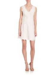 Joie Nikolina Lace Dress Porcelain