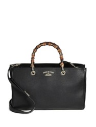 Gucci Bamboo Handle Shopper Black