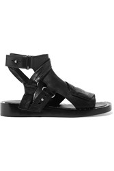 3.1 Phillip Lim Nagano Studded Leather Sandals Black