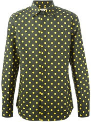 Marni Polka Dot Shirt Green