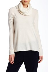 Vince Cashmere Cowl Neck Sweater White