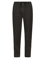 Tomas Maier Coated Denim Track Pants