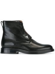 Paul Smith Lace Up Boots Black
