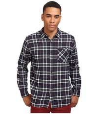 Rip Curl Blackburn Long Sleeve Flannel Navy Men's Long Sleeve Button Up
