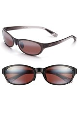 Women's Maui Jim 'Pipiwai Trail' 56Mm Polarized Sunglasses Grey Fade