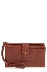 Hobo Women's Colt Leather Wallet Brown