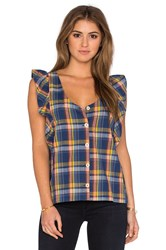 M.I.H Jeans Caval Top Blue