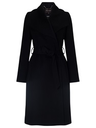Phase Eight Nicci Fit And Flare Coat Black