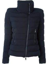 Moncler 'Antigone' Quilted Shell Jacket Blue