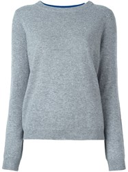 Twin Set Knitted Sweater Grey
