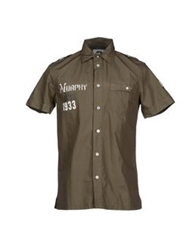 Murphy And Nye Shirts Military Green