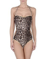 4Giveness One Piece Swimsuits Black